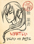 Tensho Wanted Dead or Alive by HoiGao