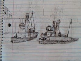 TUGS Pirate Scene 1 by cruiseshipz