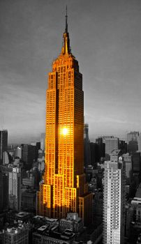 Empire State Building HDR photomanipulation by graffer66