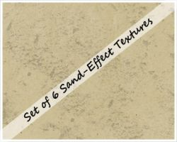 Sand Effect Textures by cazcastalla
