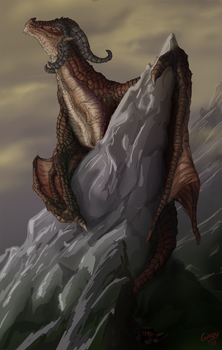 The Red Wyvern by Gingy1380