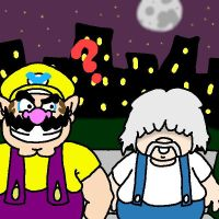 Wario and Porky :P by coachskau