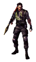 Chris Redfield-RE5 S.T.A.R.S. PNG by Isobel-Theroux
