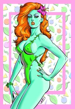 Poison Ivy 80s by RubusTheBarbarian