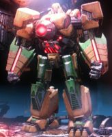 Fall of Cybertron: Stone (Robot Mode) by Shadowspeed2020