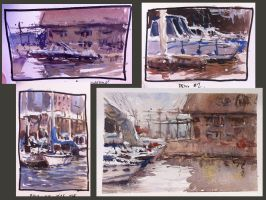 Paintings From My Outdoor Workshop by MarcoBucci