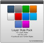 Photoshop Layer Style Pack 1 by formidabletutorials