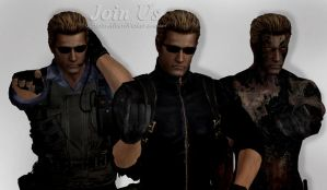 Albert Wesker - Join Us by Captain-AlbertWesker