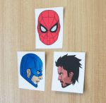 Civil War Stickers by DannyJarratt
