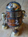 antique r2d2 10 by amoebabloke