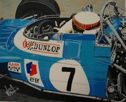 Jackie Stewart by JosefVonDoom