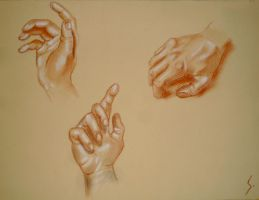 Hands practice by Sou38