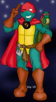 Turtle Titans secret identity by StegeKay