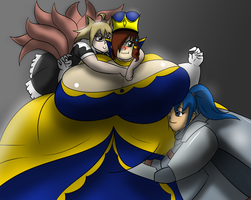 We live to serve our queen! by YutoThePhantom