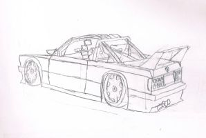 BMW E30 M3 Cabrio Drift Car by granturismomh
