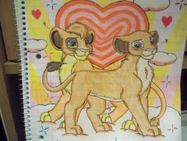 Lions in love by Shelby100
