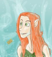 Elf Girl by ShadowMaginis