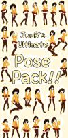 JuuRenka's Ultimate Pose Pack Download! by JuuRenka