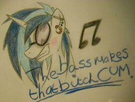 DAT BASS by HaterThePony