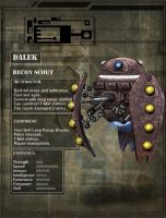 Dalek Recon Scout by DarkAngelDTB