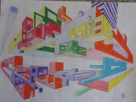 2-Point Perspective by EricGroff