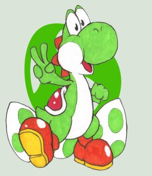 Top 5 SSB Characters/Mains #1 Yoshi (My list) by SephyTCD