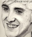Tom Felton: Portrait Preview 2 by GeeFreak