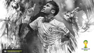 Neymar Junior Fifa World Cup Brazil wallpaper by michaelherradura