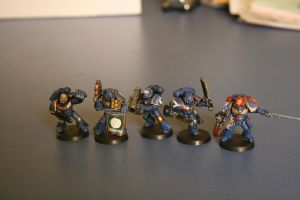 my marine elite squad by paskiman