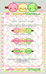 FREE JOURNAL SKIN: Dango Tango by Crystal-Moore