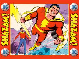 '76 Super DC Calendar - Shazam - Aug by Superman8193