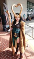 Lady Loki welcomes you to join her army by collapseddominos