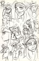 Kern Sketches by MistyTang