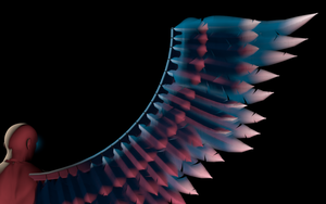 Angel wings ~ final product, Mark-1 by MHalse