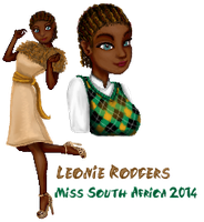 Leonie Rodgers - MDI - South Africa 2014 by FrizzKitty