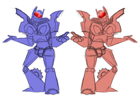 TFP Rumble Frenzy Doodle by I-want-some-Squib