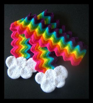 Rainbow Scarf by ciara-cable