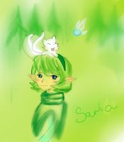 Saria for Pinkballa by Keaton-Corrine
