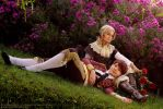Hetalia: France and Spain 2 by Amapolchen