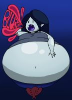 Marceline You Glutton! by NyxenAvenger