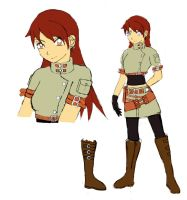 Kairi Rough Reference Sheet by x-Beatrush-x