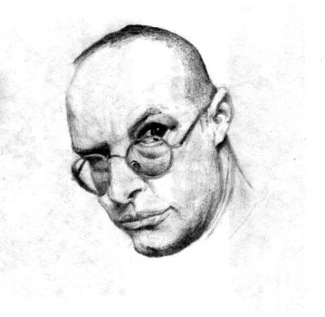 Andy Partridge by carpenocturne