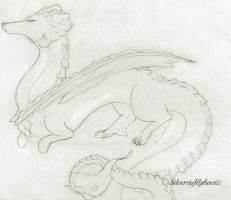 Dragon concept 1 for Crazy by forgetSanity