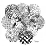 Zentangle Circles by DD28