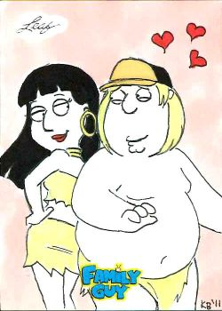 Family Guy colored sketch card - 71 by KBustAMove