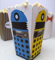 Dalek Popcorn Holder by F-A