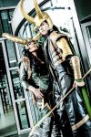 MARVEL Thor Loki 'Power and lust.' by Hirako-f-w