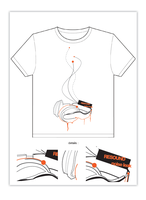 Noise leak tshirt by dioxyde