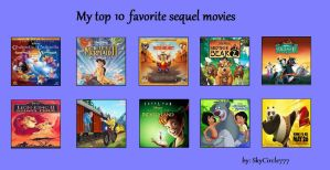My Top 10 Favorite Sequel Movies by J-Cat