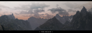 The Elder Scrolls V Skyrim The Reach Panorama by Titch-IX
